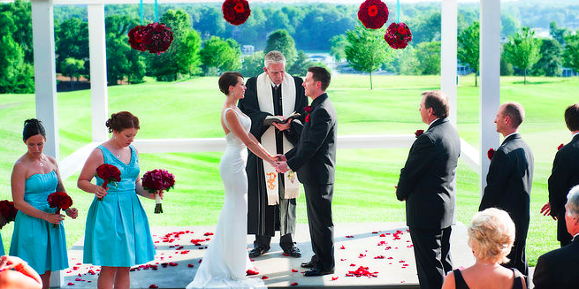 Waters Edge Country Club wedding Southwest Virginia