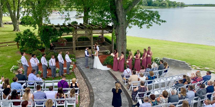 Aud Mar Banquet Hall wedding Milwaukee