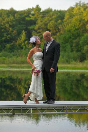 Hunt Hill Nature Center  Audubon Sanctuary wedding Eau Claire