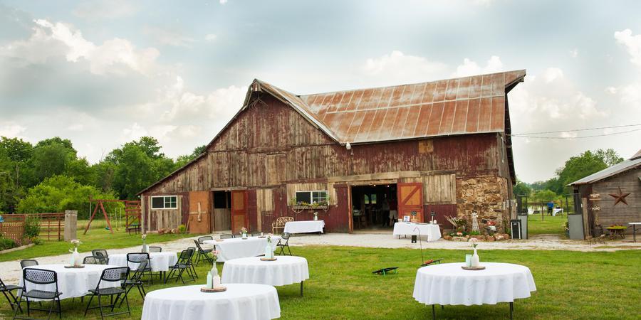 Civil War Ranch wedding Springfield