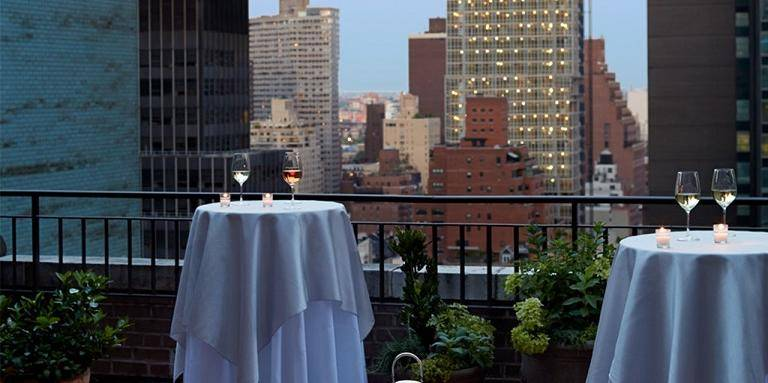 The Benjamin Hotel wedding Manhattan