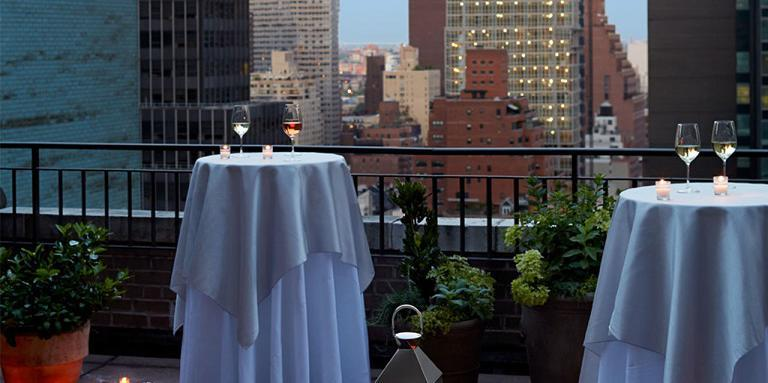 The Benjamin Hotel wedding Manhattan