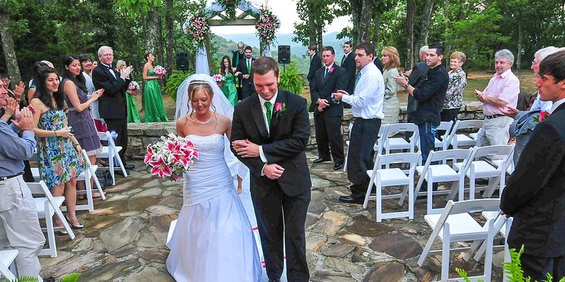 Wedding Chapel on the Mountain wedding Huntsville