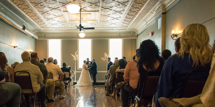 The Bee Hive Ballroom wedding Sioux City