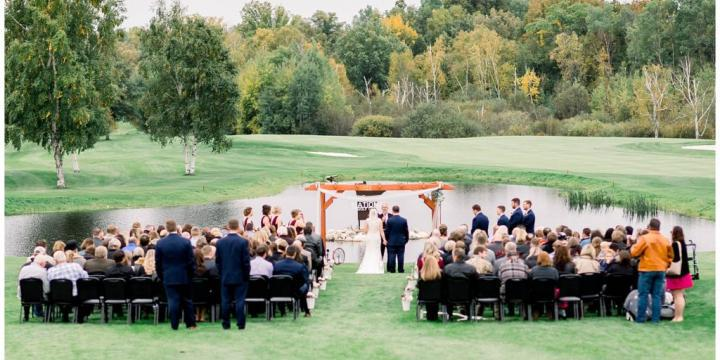 Minnesota National Golf Course wedding Minnesota