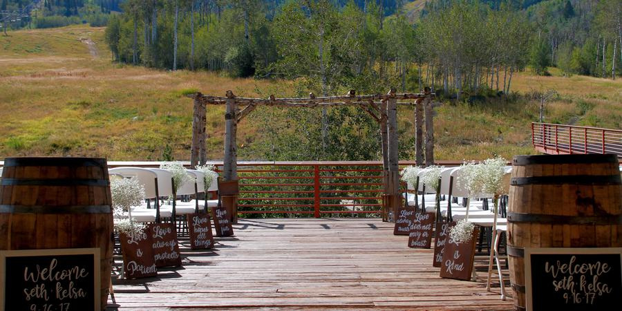 Powderhorn Mountain Resort wedding Aspen/Vail/High Rockies