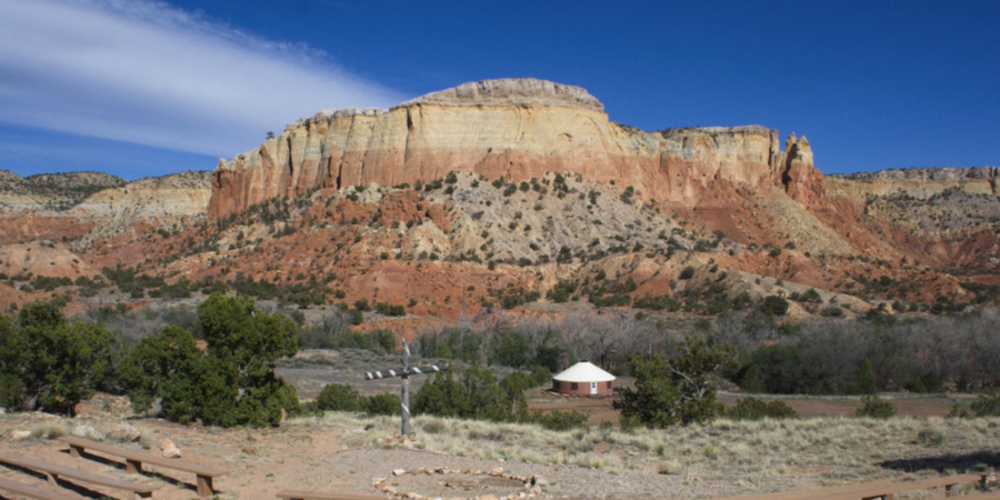 Ghost Ranch wedding New Mexico
