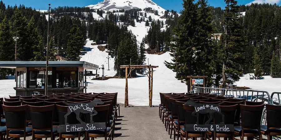 Mt. Hood Meadows wedding Mt. Hood