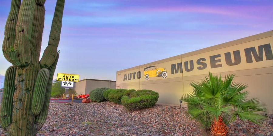 Martin Auto Museum wedding Phoenix/Scottsdale