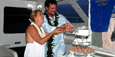 Friendly Charters wedding Maui