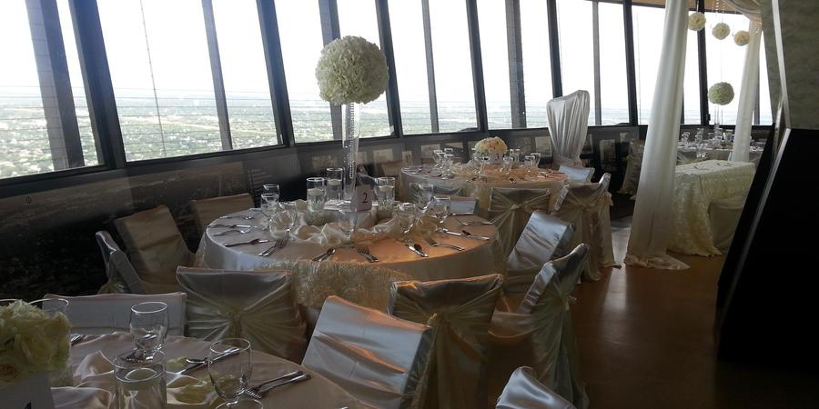 Chart House - Tower of the Americas wedding San Antonio
