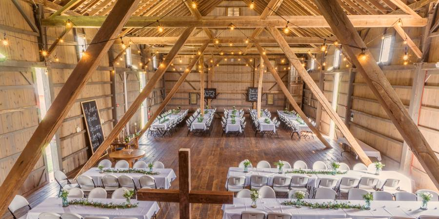 Salomon Farm Park Old Barn wedding Northeast Indiana