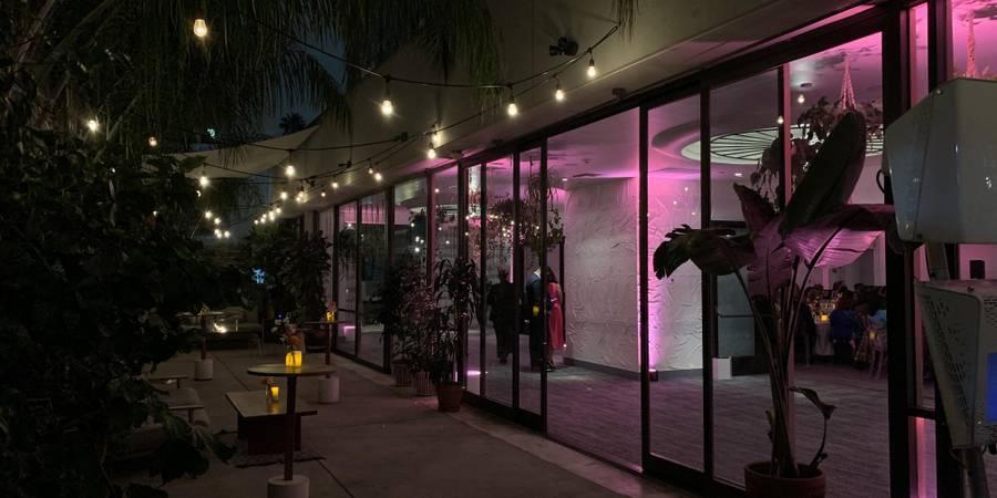 The LINE LA wedding Los Angeles