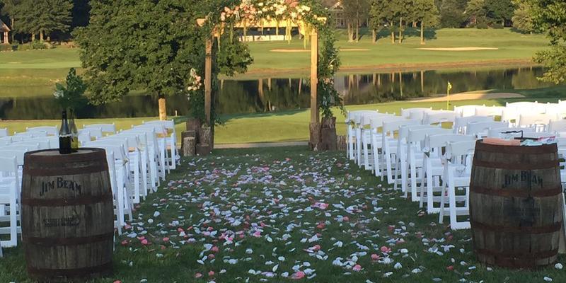 Champion Trace Golf Club wedding Lexington