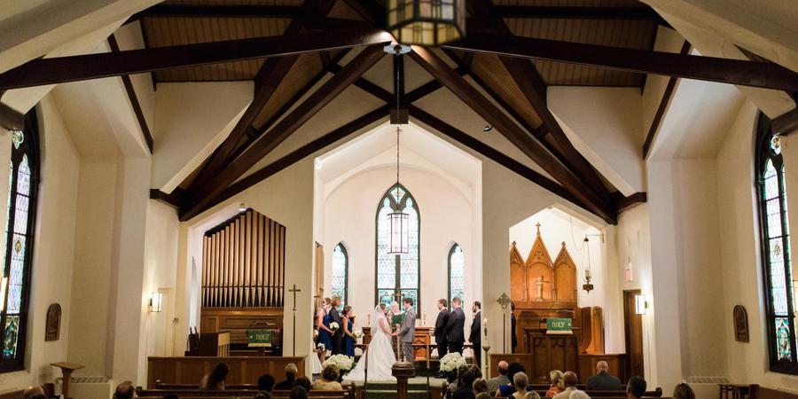 Georgetown Lutheran Church wedding Washington DC