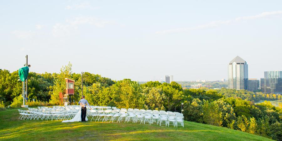 Hyland Hills Chalet wedding Minnesota