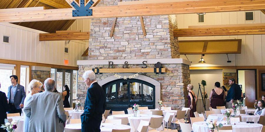 Elm Creek Chalet wedding Minnesota