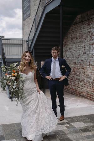 Cadillac Service Garage wedding Greensboro/Triad