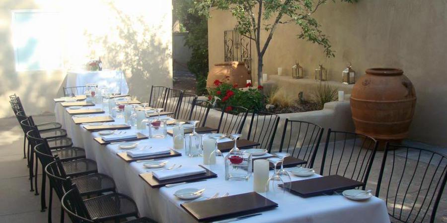 The Compound Restaurant wedding New Mexico