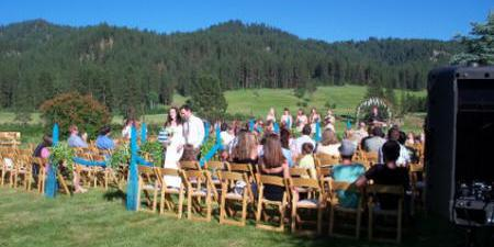 Walk On The Wild Side Bed Breakfast wedding Idaho