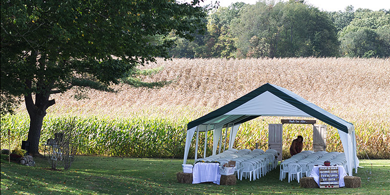 T&R Inn Between The Lakes wedding Kalamazoo