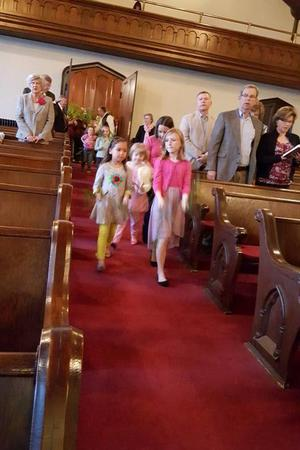 First Baptist Church of Elizabeth City wedding Outer Banks