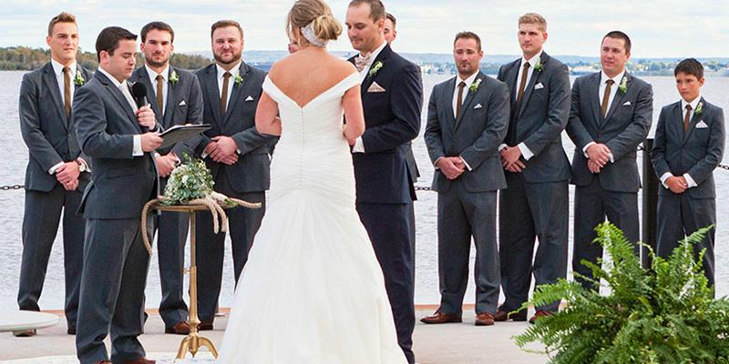 Pier B Resort wedding Minnesota