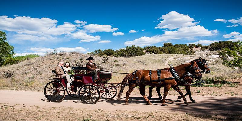 El Rancho de las Golondrinas wedding New Mexico