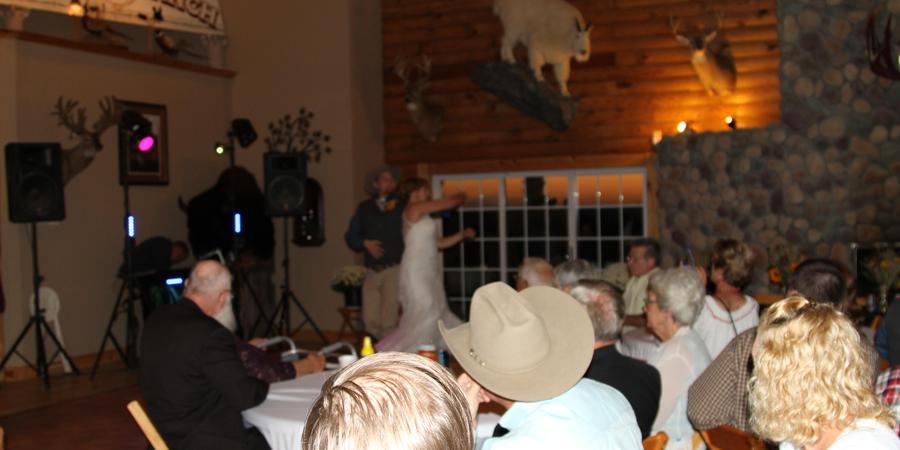 East Fork Lodge and Ranch wedding Kansas City