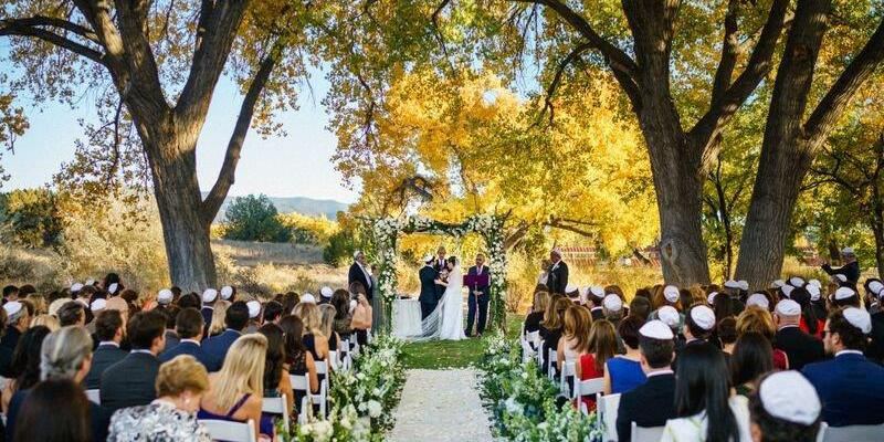 La Mesita Ranch Estate wedding New Mexico