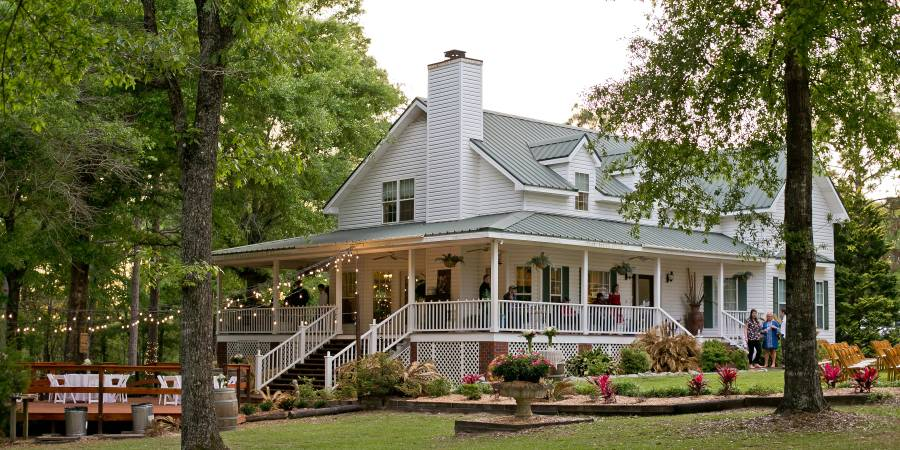 Sago Springs Manor wedding Southern Alabama