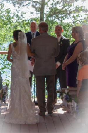 Buckhorn Resort On Caribou Lake wedding Minnesota
