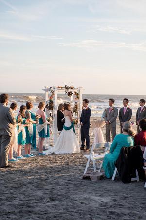 Tides Folly Beach wedding Charleston