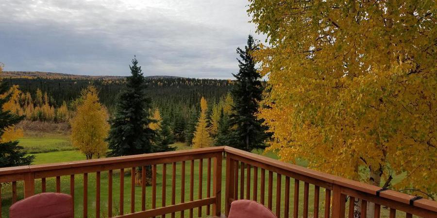 Northern Sky Lodge wedding Alaska