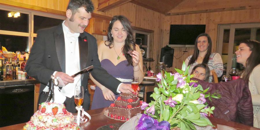 DiamondStone's Homestead Lodge wedding Willamette Valley