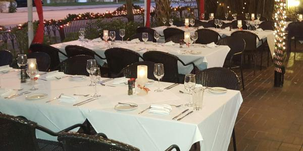 The Patio Seafood Tavern wedding Central Florida Beaches/Coast