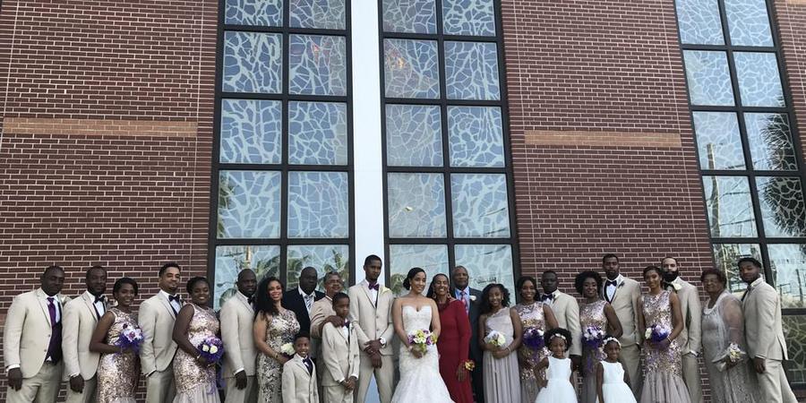 New Birth Baptist Church Cathedral of Faith International wedding Miami