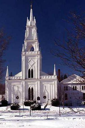 Winter Street Center wedding Maine
