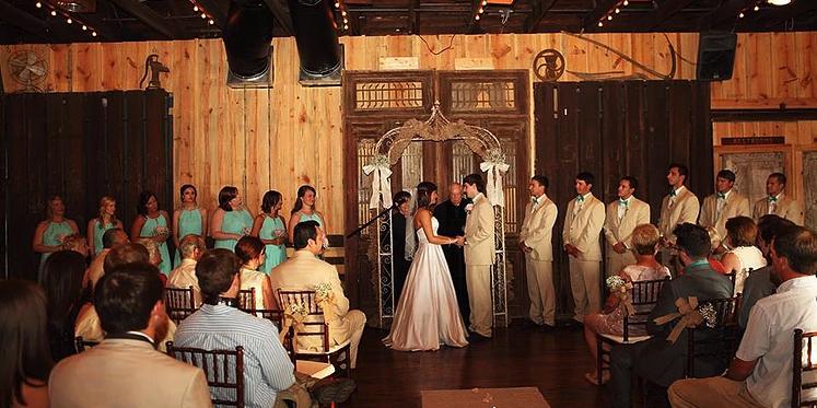 The Depot off Main wedding Southern Alabama