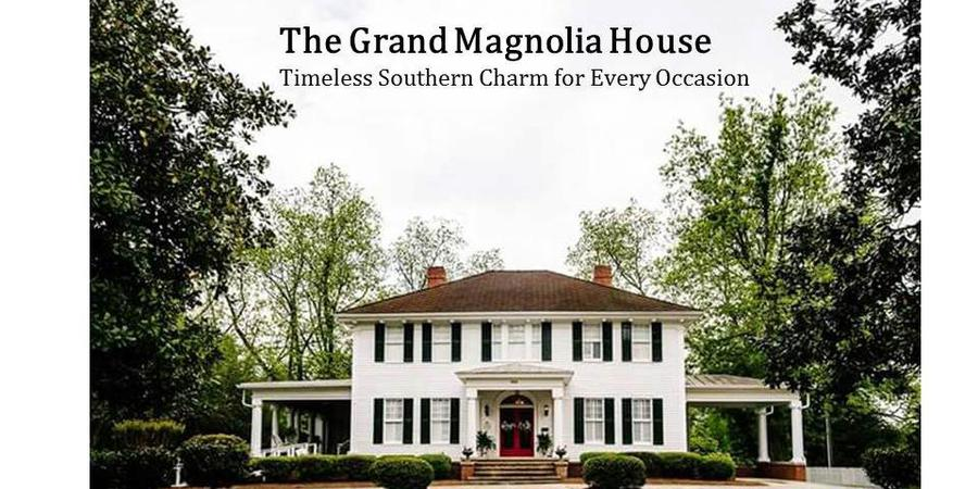 The Grand Magnolia House wedding Macon