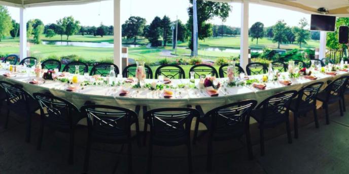 Potowomut Golf Club wedding Coastal Rhode Island