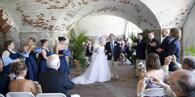 Fort Adams wedding Coastal Rhode Island