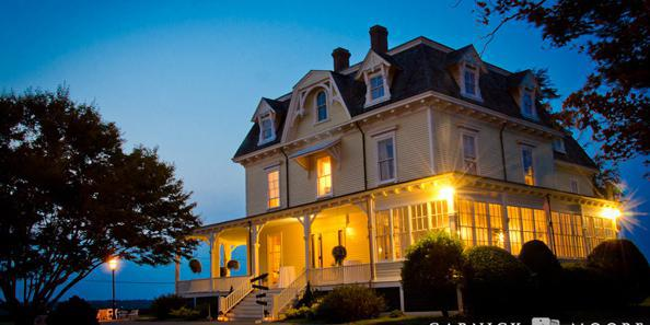 Eisenhower House wedding Coastal Rhode Island