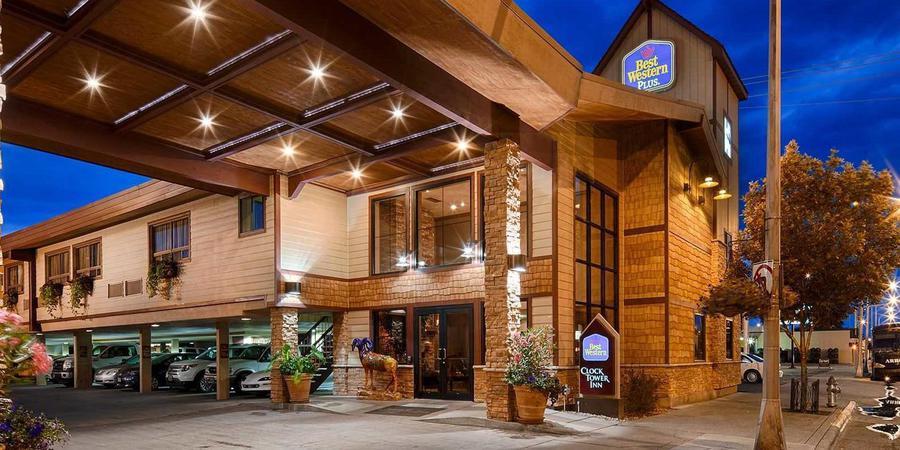 Best Western PLUS ClockTower Inn wedding Montana