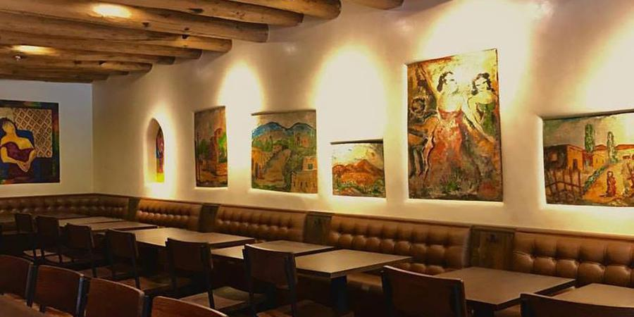 El Farol Restaurant wedding New Mexico