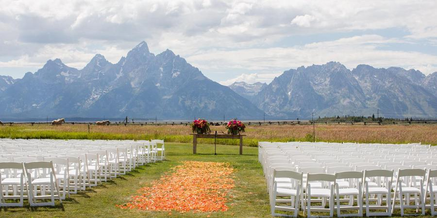 Lost Creek Ranch & Spa wedding Wyoming