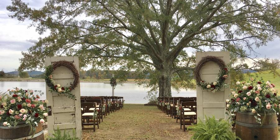 Mountain View Farms Weddings & Events wedding Huntsville