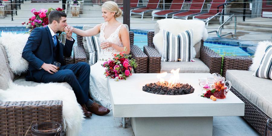 Snow King Hotel wedding Wyoming