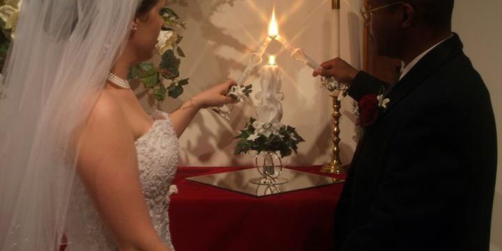 Unity Church of Light wedding St. Louis
