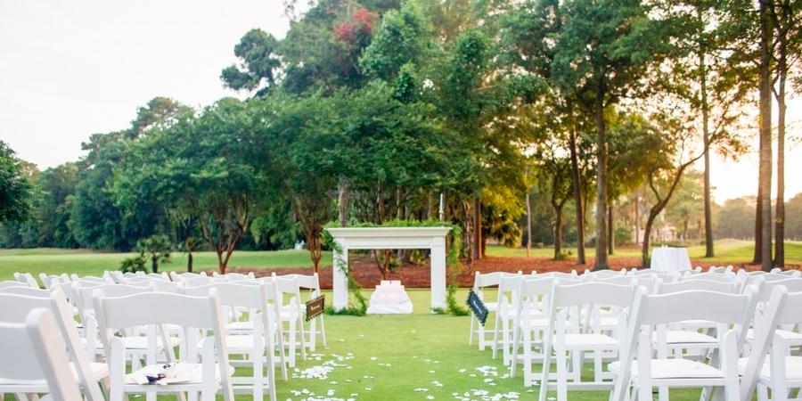 Palmetto Hall Plantation Club wedding Hilton Head